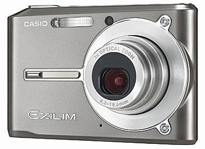 Casio EXILIM - S500 šedý