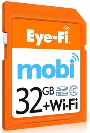 Eye-Fi SDHC 32GB Mobi Wifi