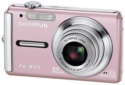 Olympus FE-340 růžový