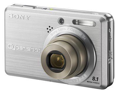 Sony DSC-S780 stříbrný