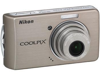 Nikon CoolPix S520 bronzový + SD 2GB karta