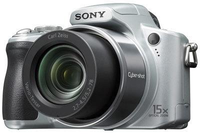 Sony DSC-H50 stříbrný