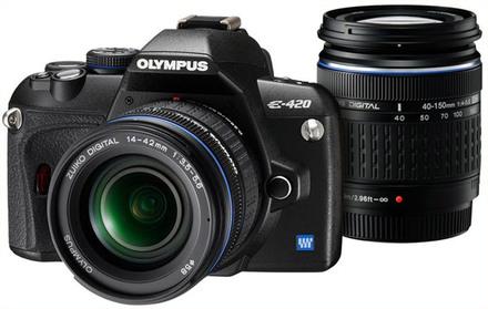 Olympus E-420 Power Double Zoom Kit