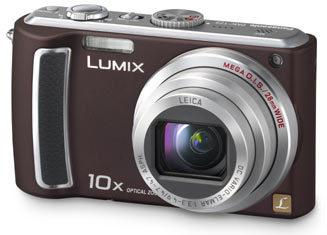 Panasonic Lumix DMC-TZ5 hnědý