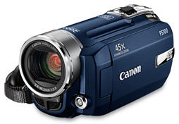 Canon FS100 modrý