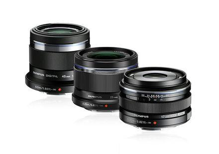 Olympus Compact lens kit černý