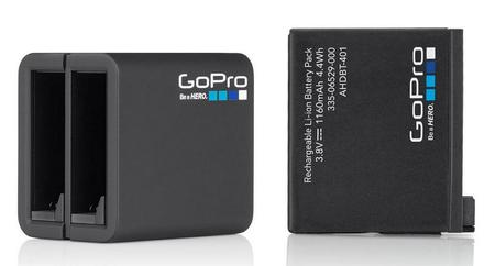 GoPro Dual Battery Charger pro HERO4