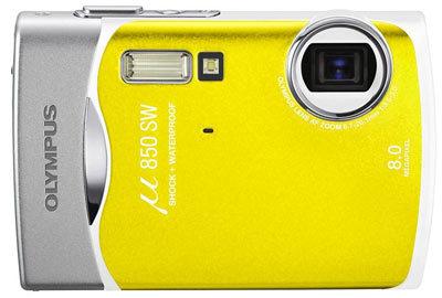 Olympus Mju 850 SW žlutý