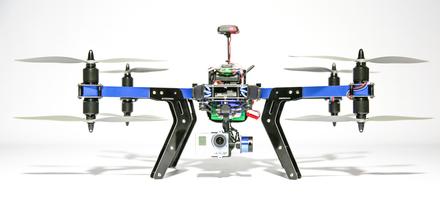 3D Robotics RTF X8+ (433)