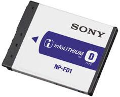 Sony akumulátor NP-FD1