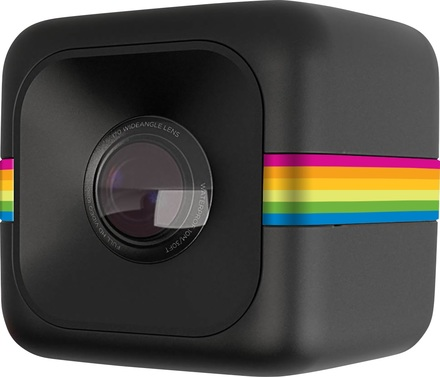 Polaroid Cube černý sada pro auto nebo motorku!