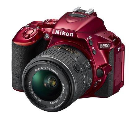 Nikon D5500 + 18-55 mm VR II černý