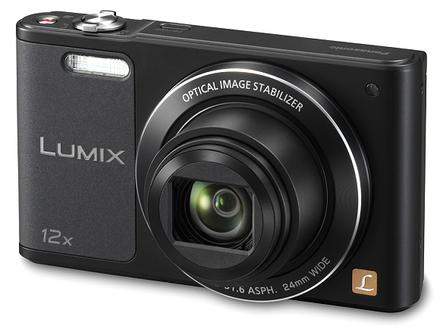 Panasonic Lumix DMC-SZ10 černý + 8GB karta + pouzdro 70G + ministativ + čistící utěrka!