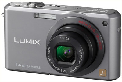 Panasonic Lumix DMC-FX150 stříbrný