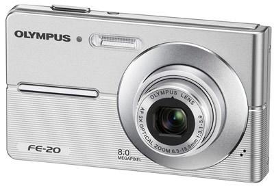 Olympus FE-20 stříbrný