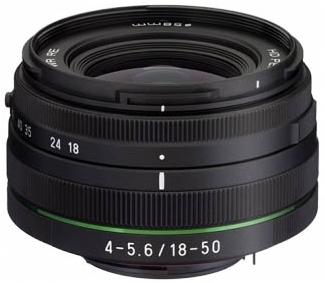 Pentax DA 18-50mm f/4 -5,6L DC WR RE