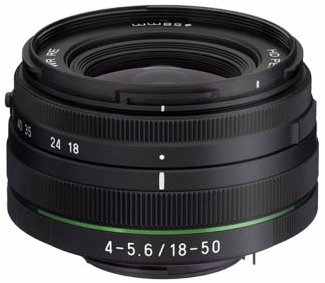 Pentax DA 18-50 mm f/4 -5,6L DC WR RE