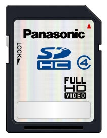 Panasonic SDHC 6 GB Class 4