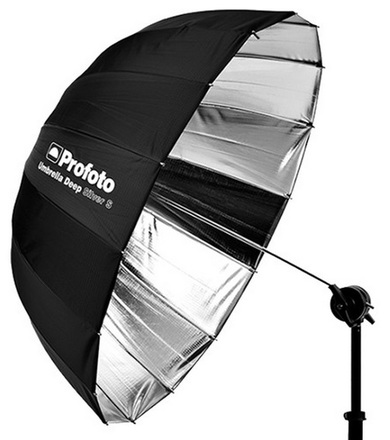 Profoto deštník Deep S 85cm stříbrný