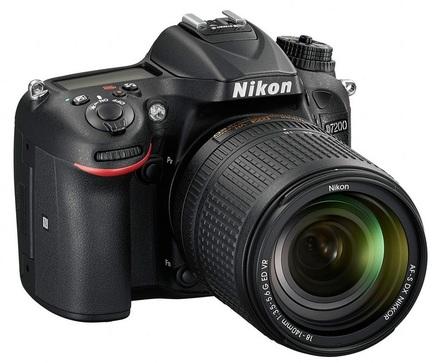 Nikon D7200 + 18-300 mm VR