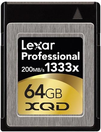 Lexar XQD 64GB 1333x Professional