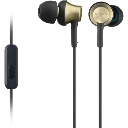 Sony sluchátka MDR-EX650AP zlatá