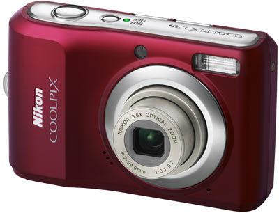 Nikon CoolPix L20 červený