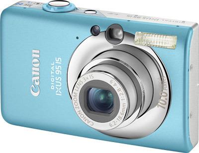 Canon IXUS 95 IS modrý