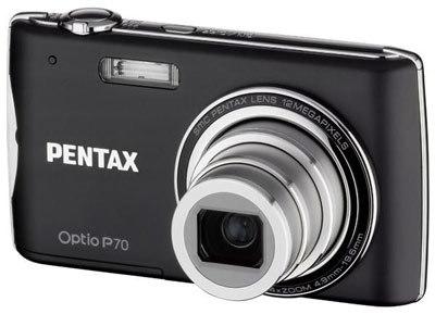 Pentax Optio P70 černý