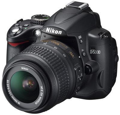 Nikon D5000 + 18-105 mm VR