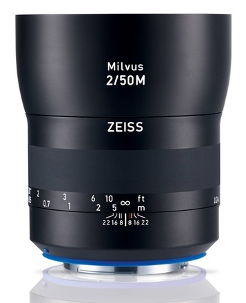 Carl Zeiss Milvus 50mm f/2 M ZE pro Canon