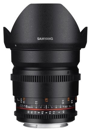 Samyang CINE 16mm T/2,2 VDSLR II pro Sony
