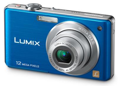 Panasonic Lumix DMC-FS12 modrý