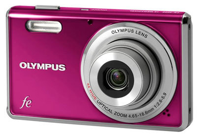 Olympus FE-4000 fialový