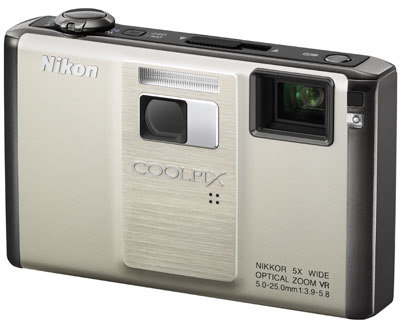 Nikon CoolPix S1000pj stříbrný