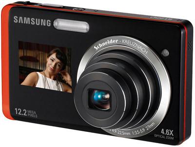 Samsung ST550 oranžový