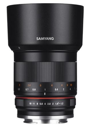 Samyang 50mm f/1,2 AS UMC CS pro Fuji X