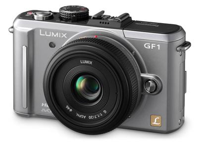 Panasonic Lumix DMC-GF1 stříbrný tělo