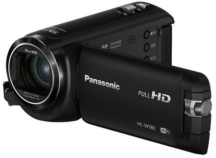 Panasonic HC-W580 černý