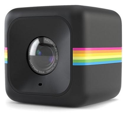 Polaroid Cube+ černý sada na kolo nebo lyže!