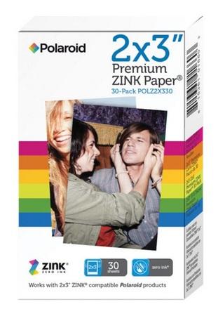 """Polaroid fotopapír ZINC 2x3"""" - 30ks"""