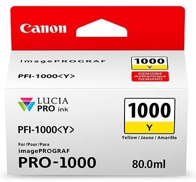 Canon Cartridge PFI-1000 Y žlutá