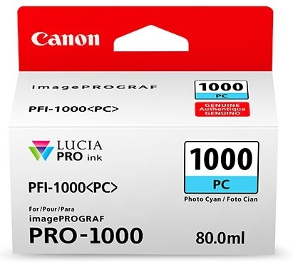 Canon Cartridge PFI-1000 PC Photo tyrkysová
