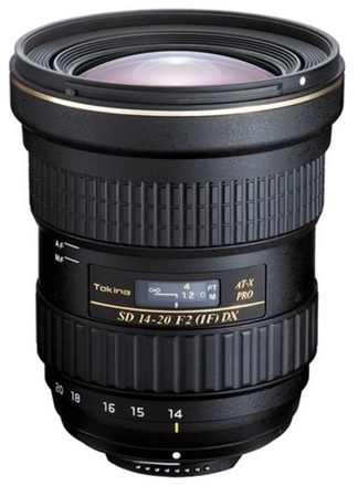 Tokina AT-X 14-20mm f/2 Pro DX pro Canon