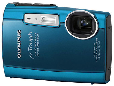 Olympus Mju TOUGH-3000 modrý