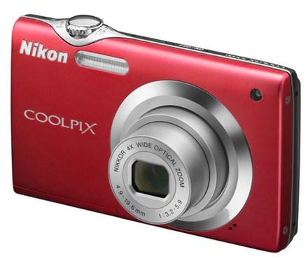 Nikon Coolpix S3000 červený