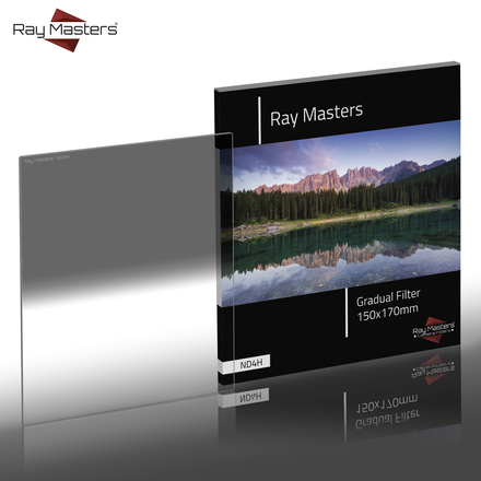 Ray Masters 150x170mm ND 4 filtr tvrdý