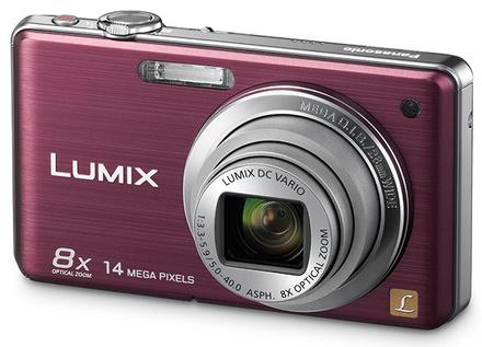 Panasonic Lumix DMC-FS30 fialový