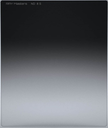 Ray Masters 84x100mm ND 8 filtr 0,9 jemný