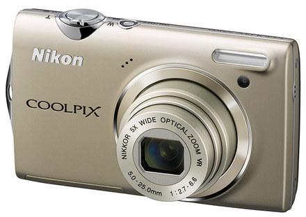 Nikon CoolPix S5100 stříbrný